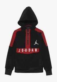 Jordan - JORDAN AIR 1/2 ZIP HOODIE - Sweat à capuche - black - 3