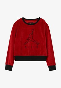 Jordan - AIR LEGACY CREW - Mikina - gym red - 2
