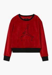Jordan - AIR LEGACY CREW - Mikina - gym red - 0