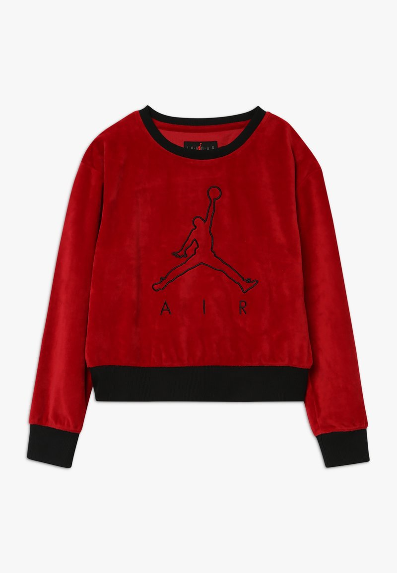 Jordan - AIR LEGACY CREW - Mikina - gym red