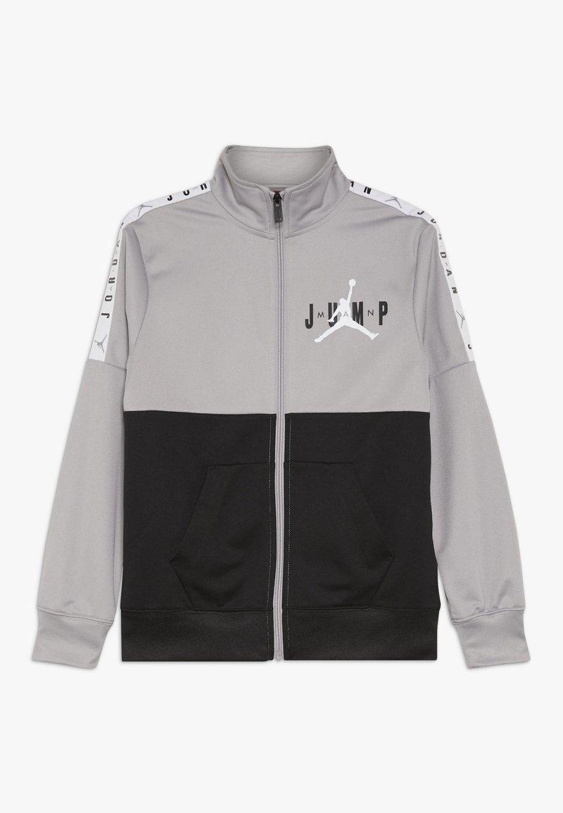 Jordan - JUMPMAN SIDELINE TRICOT JACKET - Sportovní bunda - atmosphere grey