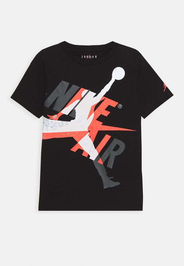 JUMPMAN  CLASSIC GRAPHIC - Print T-shirt - black