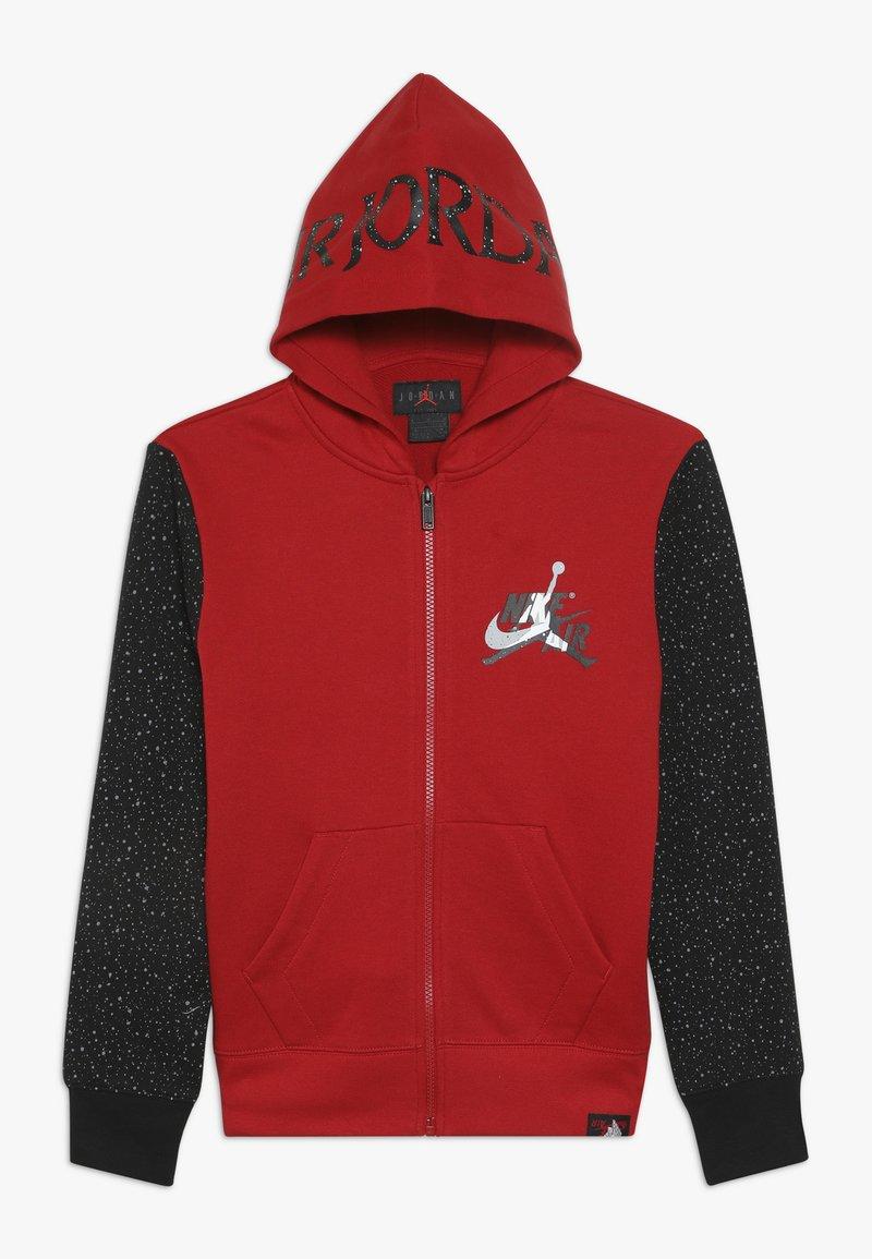 Jordan - JUMPMAN CLASSIC FULL ZIP - veste en sweat zippée - gym red