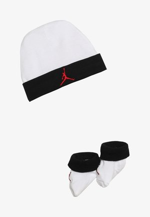 BASIC JORDAN HAT BOOTIE SET  - Bonnet - white