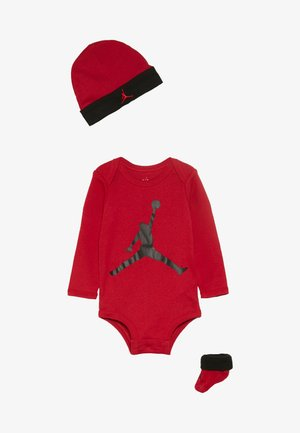 JUMPMAN BOOTIE SET  - Bonnet - gym red