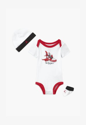 FIRST IN FLIGHT UNISEX SET - Čepice - white