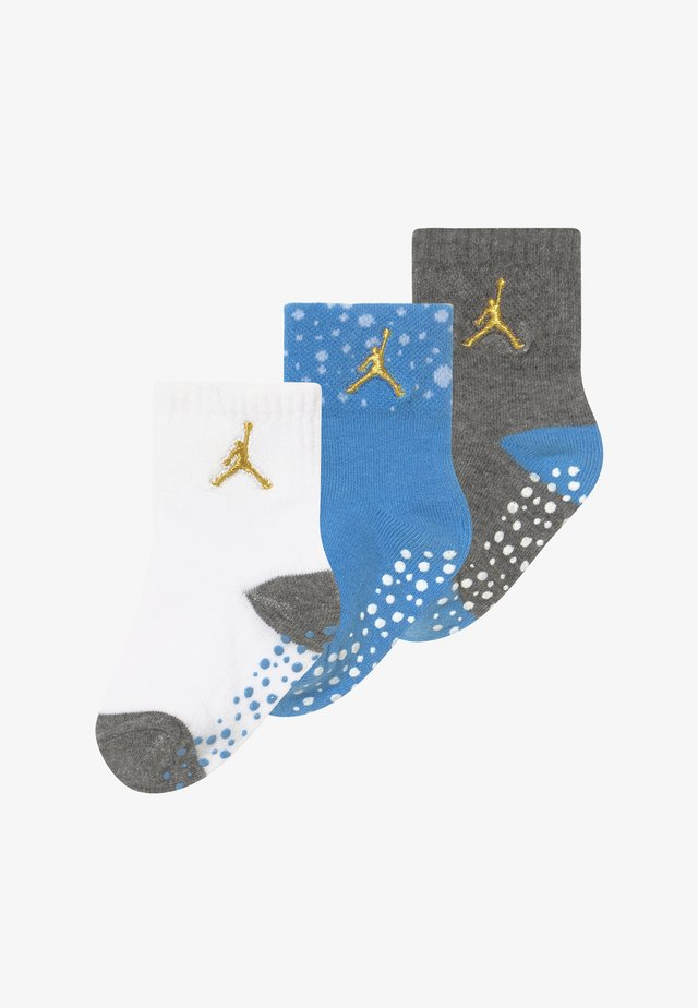 CEMENT INFANT TODDLER ANKLE 3 PACK - Sportsocken - university blue