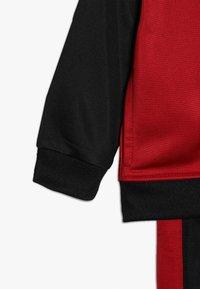 Jordan - JUMPMAN TRICOT PANT SET - Trainingspak - black/gym red - 4