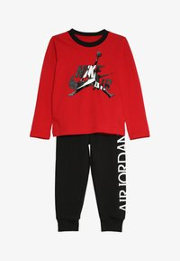 Jordan - JUMPMAN CLASSIC JOGGER SET - Trainingspak - black/gym red - 3
