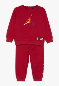 Jordan - CREW JOGGER SET - Survêtement - gym red - 0