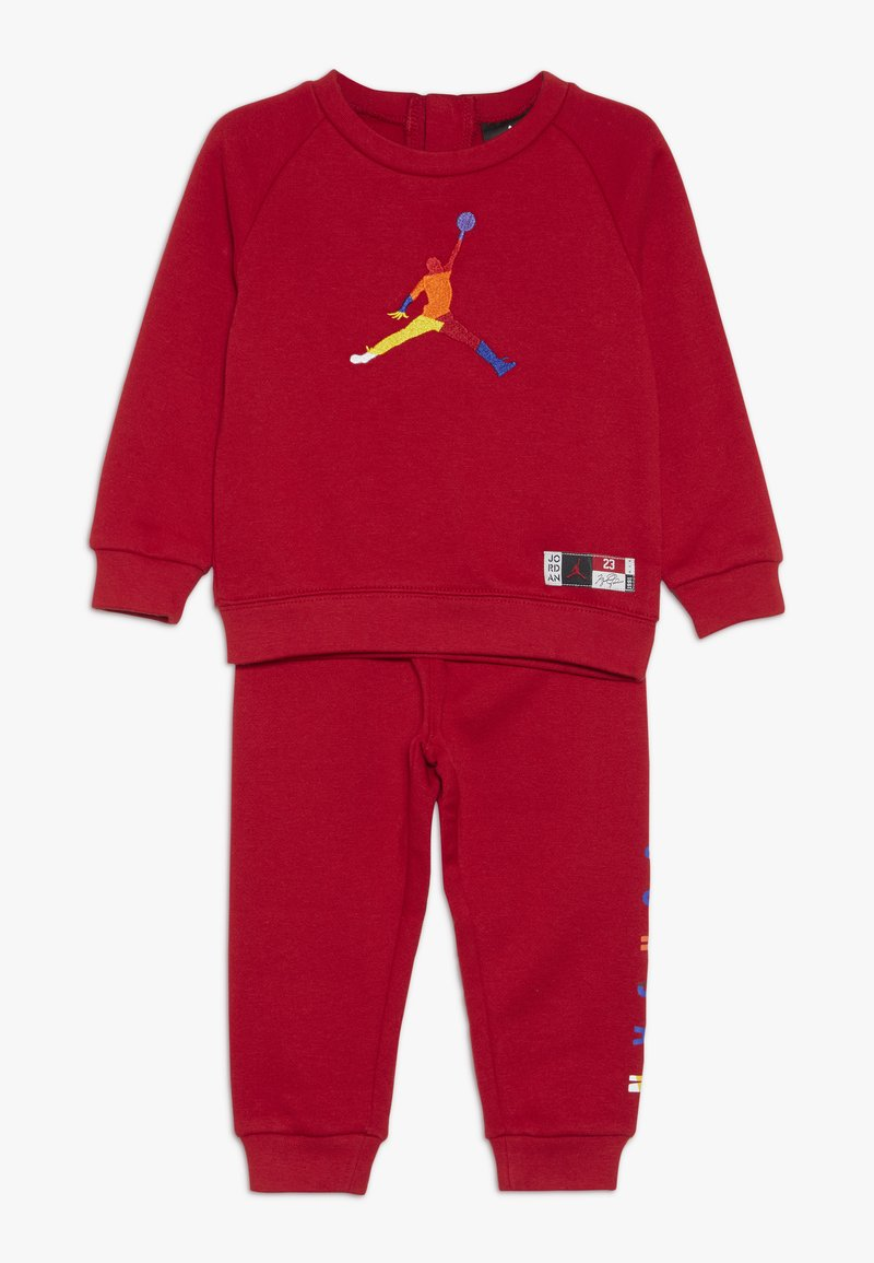 Jordan - CREW JOGGER SET - Survêtement - gym red