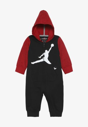 OVERSIZED JUMPMAN COVERALL - Survêtement - black/gym red