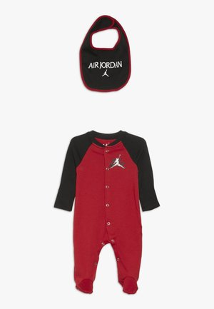JUMPMAN CLASSIC FOOTED COVERALL SET - Kruippakje - gym red/black