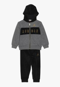 Jordan - HOODED OUTLINE JOGGER - Treningsdress - black - 0