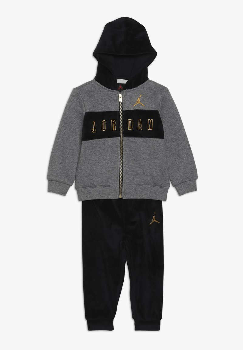 Jordan - HOODED OUTLINE JOGGER - Treningsdress - black