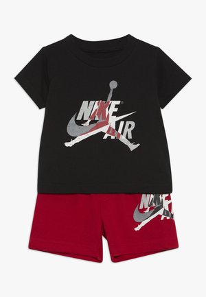 JUMPMAN CLASSIC TEE SET - Kraťasy - gym red