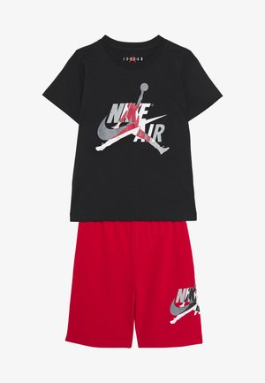 JUMPMAN CLASSIC TEE SHORT SET - Urheilushortsit - gym red