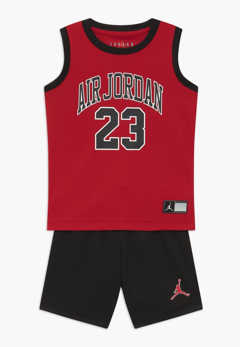 Jordan - MUSCLE SET - Sports shorts - black