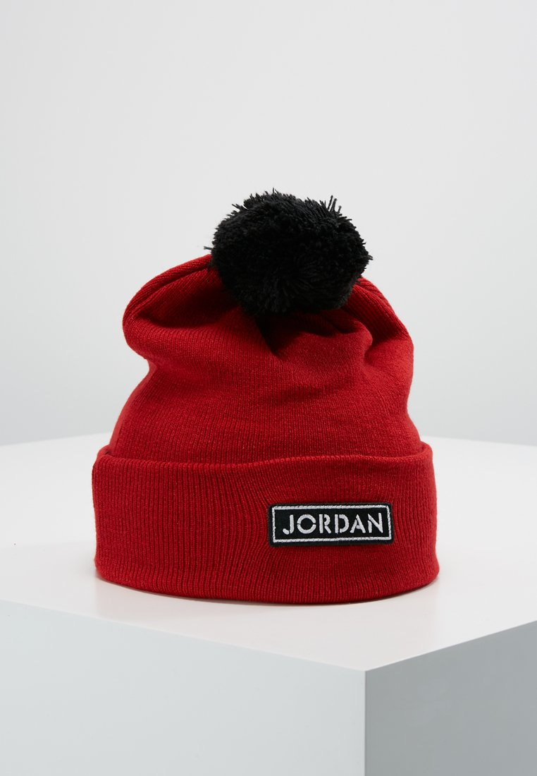 Jordan - PATCH BEANIE - Mütze - gym red