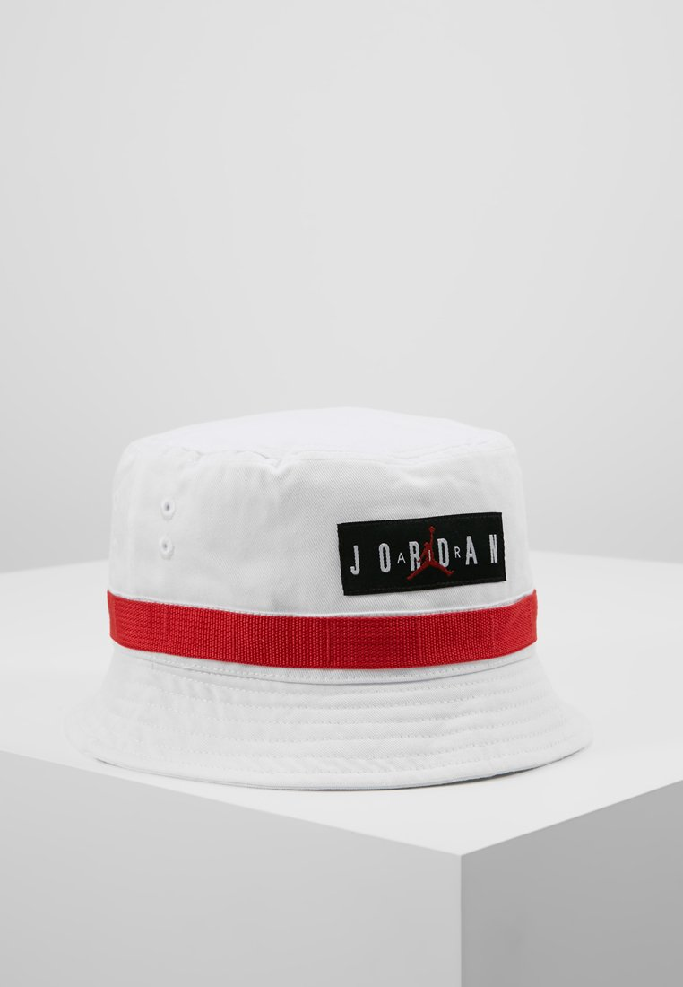 Jordan - UTILITY BUCKET HAT - Klobouk - white