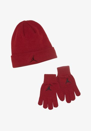 JUMPMAN BEANIE GLOVE SET - Rukavice - gym red