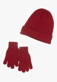 Jordan - JUMPMAN BEANIE GLOVE SET - Gloves - gym red - 1