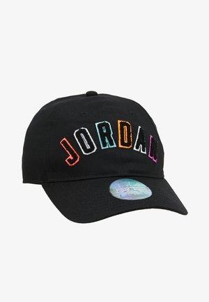 CURVEBRIM - Cap - black/multicolored