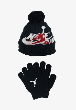 JUMPMAN CLASSICS POM BEANIE SET - Gants - black
