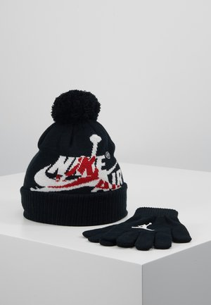 JUMPMAN CLASSICS POM BEANIE SET - Gloves - black