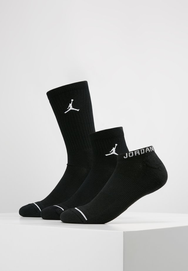 EVERYDAY MAX SET - Trainer socks - black/black/black