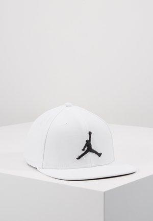 JORDAN PRO JUMPMAN SNAPBACK - Casquette - white/black