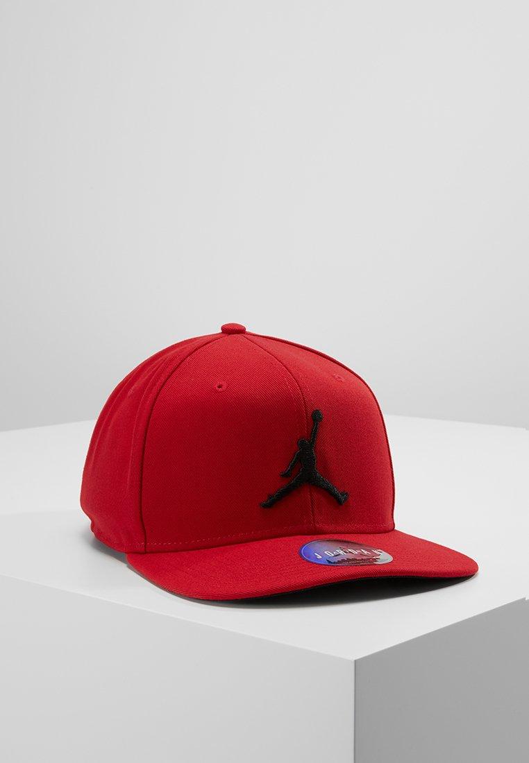 Jordan - JORDAN PRO JUMPMAN SNAPBACK - Czapka z daszkiem - gym red/black