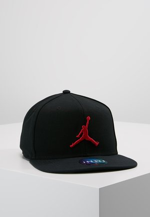 JORDAN PRO JUMPMAN SNAPBACK - Lippalakki - black/gym red