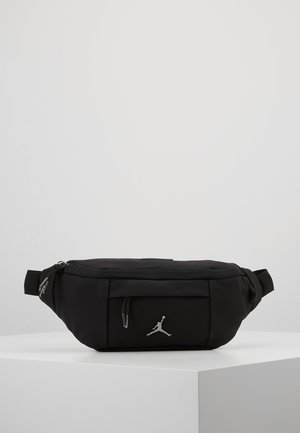 SUEDE AIR CROSSBODY - Ledvinka - black