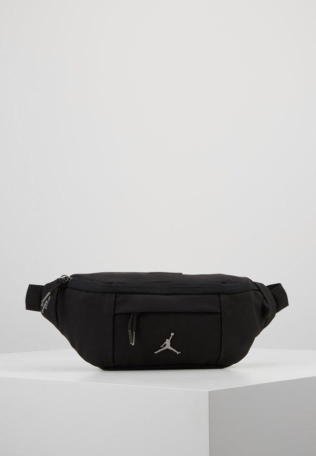 SUEDE AIR CROSSBODY - Bum bag - black