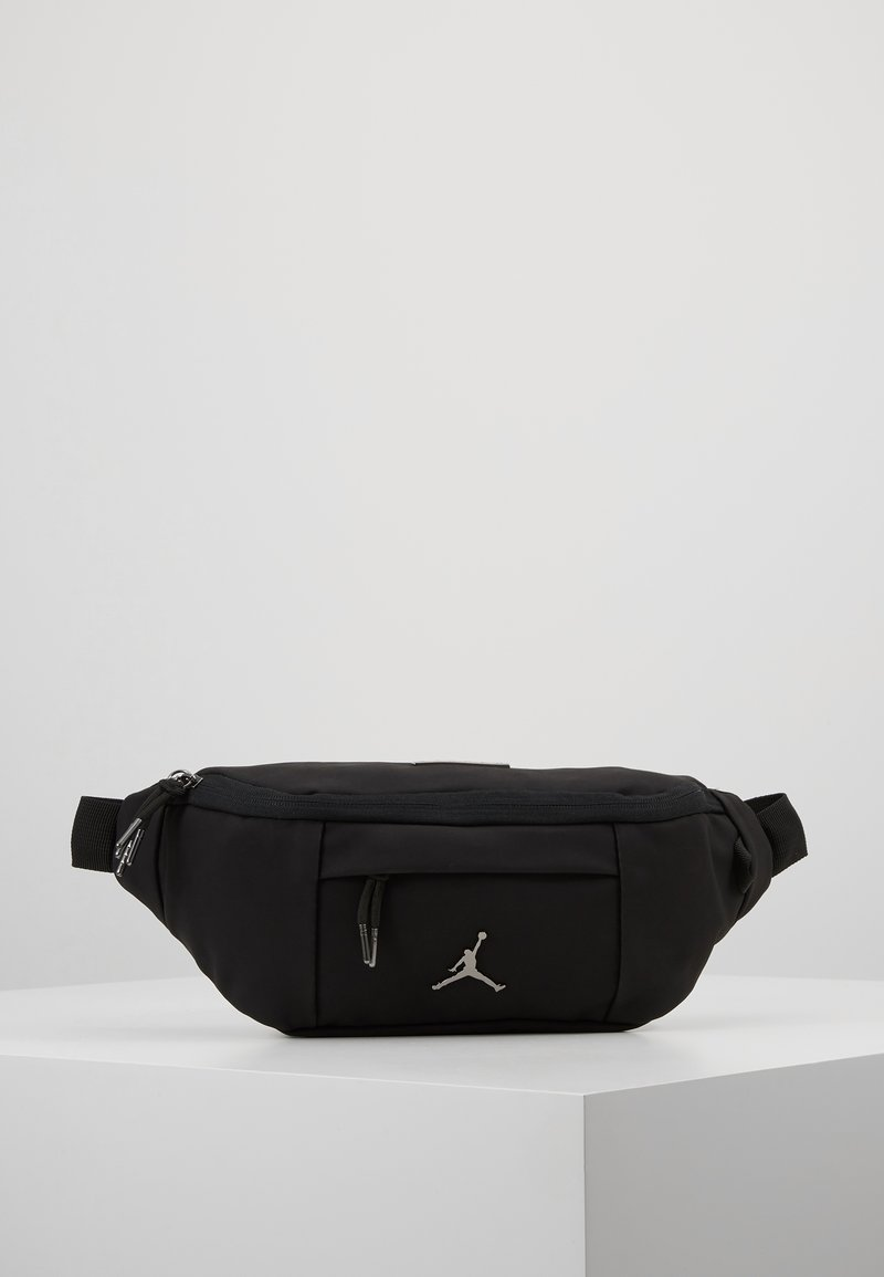Jordan - SUEDE AIR CROSSBODY - Ledvinka - black