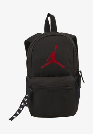 AIR PACK  - Reppu - black/gym red