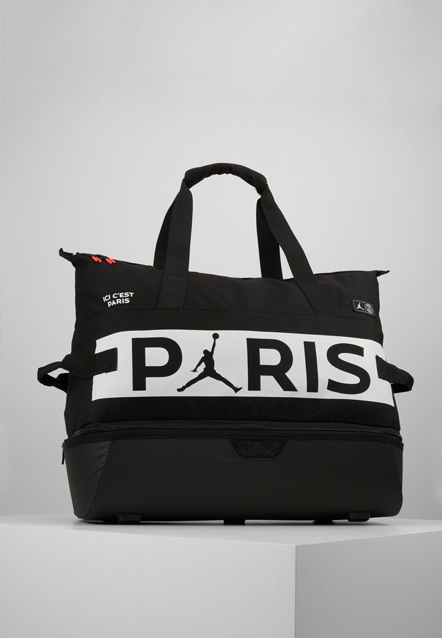 FOOTBALL DUFFLE - Bolsa de deporte - black