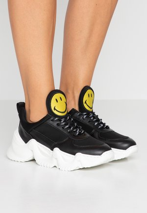 CAPSULE SMILE DONNA - Joggesko - black
