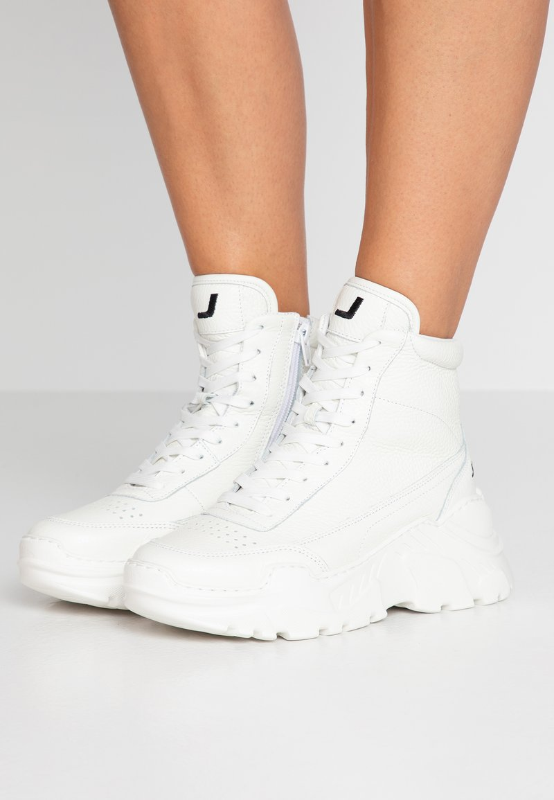 Joshua Sanders - ZENITH CLASSIC DONNA SPACE - High-top trainers - white