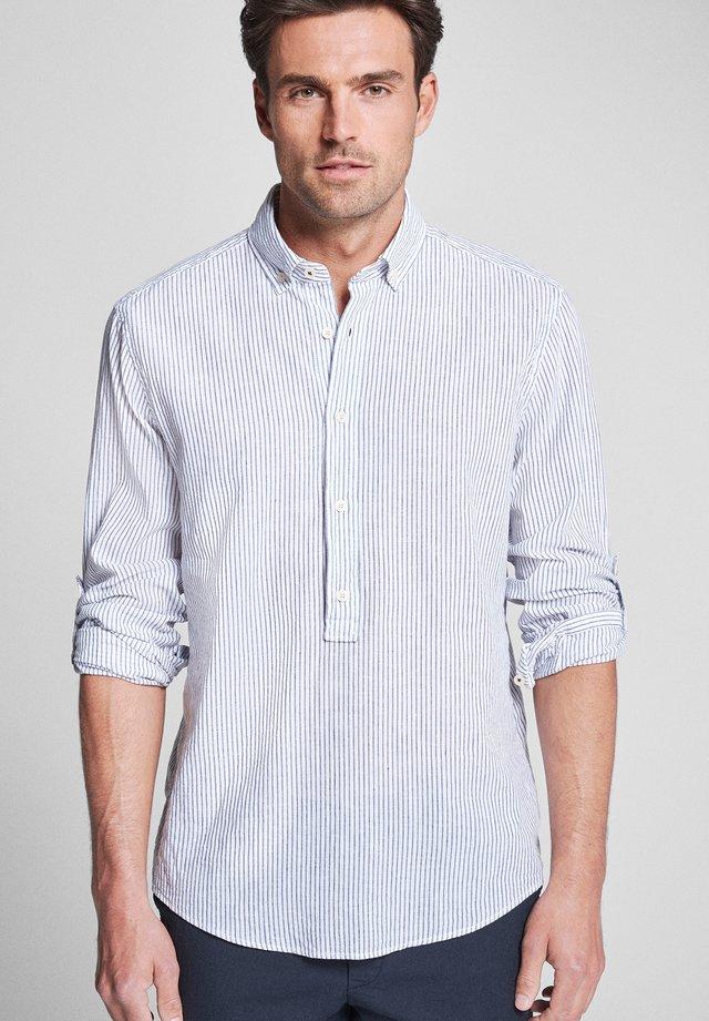 HENNRY - Overhemd - white/blue