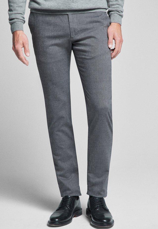 STEEN - Trousers - dark gray
