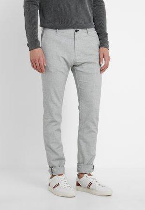STEEN - Pantalon classique - light grey melange