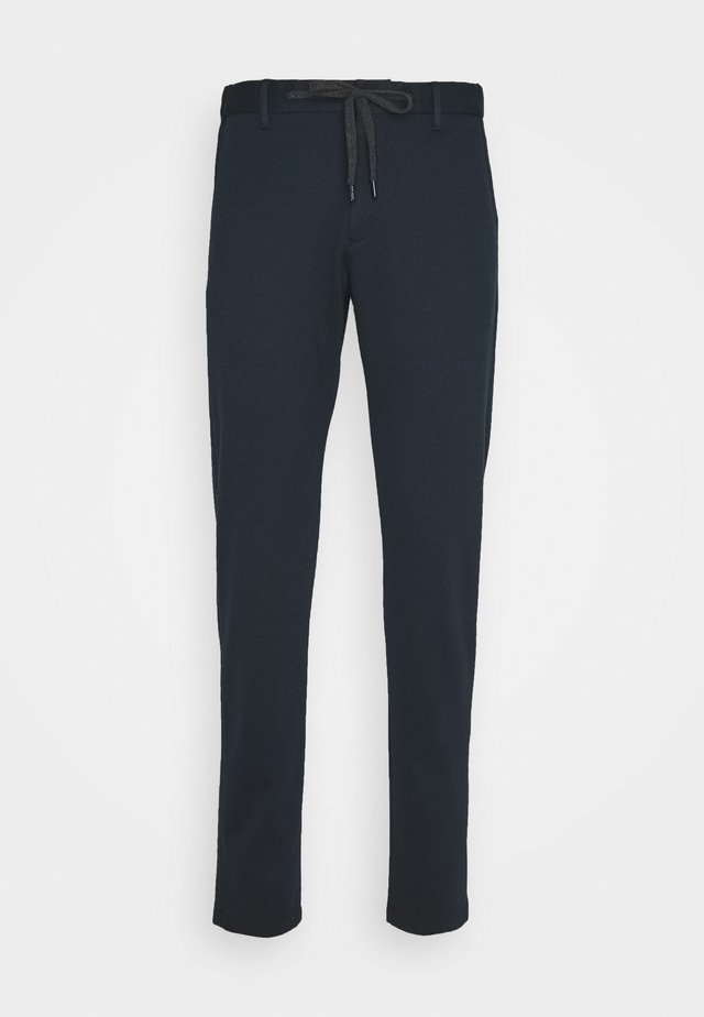 MAXTON - Spodnie materiałowe - dark blue