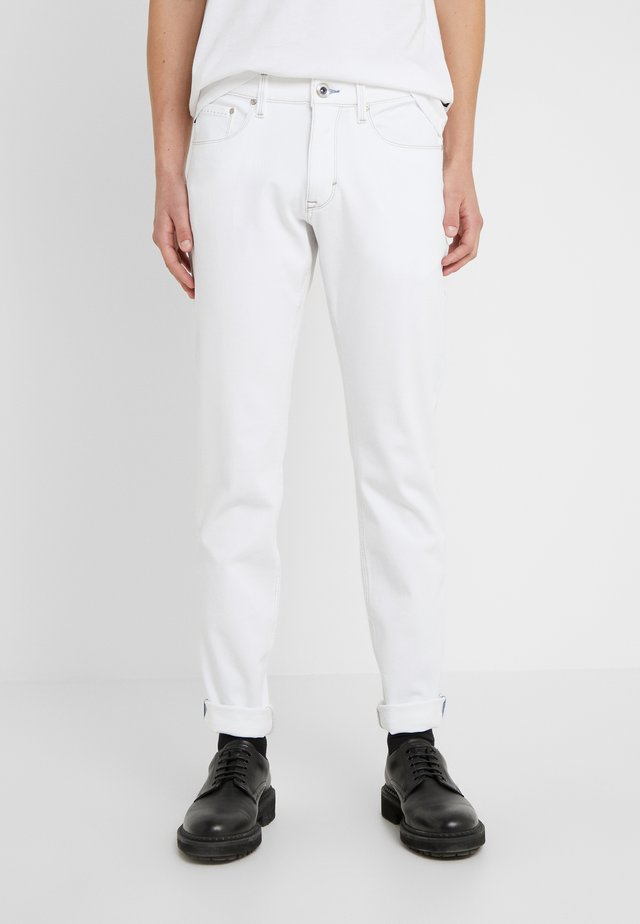 STEPHEN - Trousers - white denim