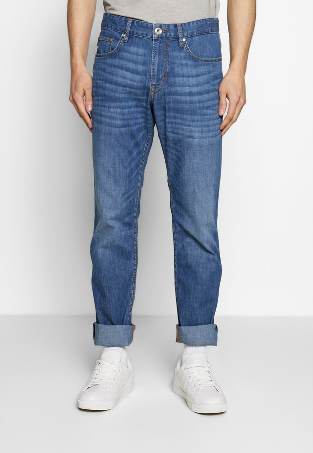 MITCH - Džíny Straight Fit - blue denim