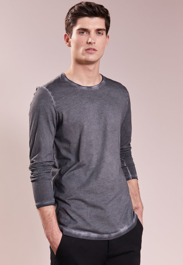CARLOS - Topper langermet - dark grey
