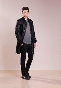 JOOP! Jeans - CARLOS - Langærmede T-shirts - dark grey - 1