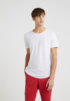 CLARK - Basic T-shirt - white
