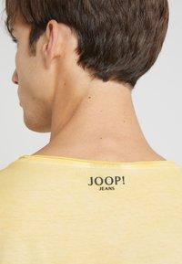 JOOP! Jeans - CLARK - T-paita - yellow - 4